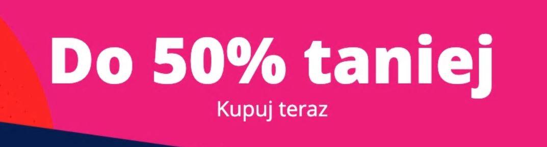 50% taniej na Aliexpress - promocja